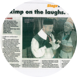 Mpho Osei-Tutu featured in Cape Argus