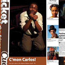 Mpho Osei-Tutu featured in Cue (Convincing Carlos)